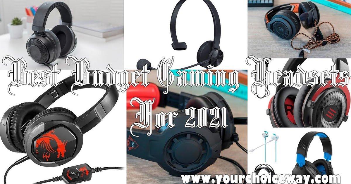 Best Budget Gaming Headsets For 2021  https://t.co/fyPtCQpDhb  #best #Budget #Gaming #Headsets #2k21 #testcenter #technology #tech #gadgets #techblog #technologyblog #techworld #smarthome #audioreviews https://t.co/YHLGhJoDUz