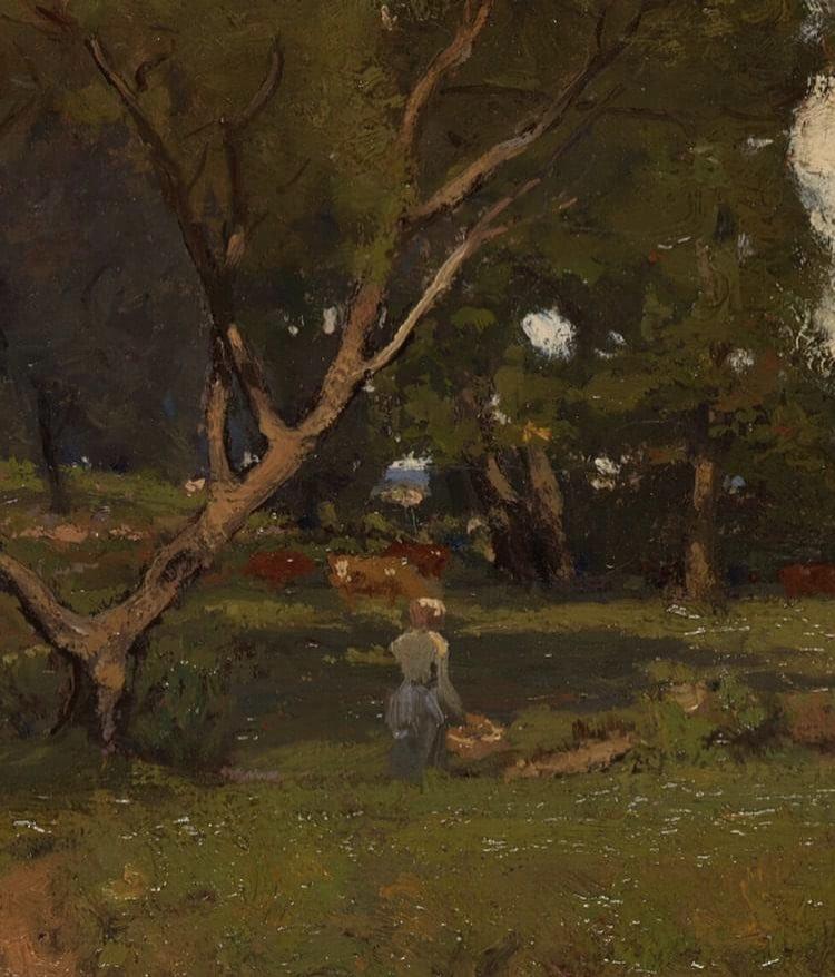 Les arbres ..., 1905 📍#NYC #USA 🇺🇸 #WilliamHarper (1873-1910)  #art #tableau #peinture