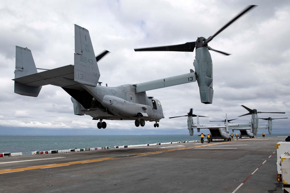 #USA #Texas #Military  Under the terms of a $309.6 million order announced Friday, US military aviation officials will order four CMV-22B tiltrotor aircraft and avionics from the Bell-Boeing Joint Project Office (JPO) in Amarillo, Texas. @no_itsmyturn