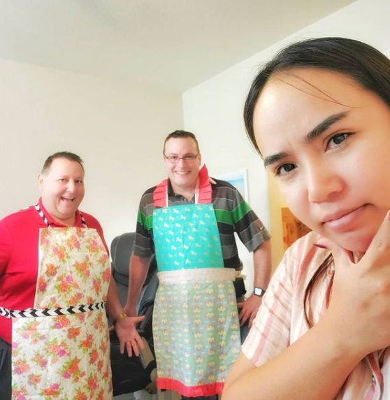 When you look at Annie's husband you can find that he might be a good chef LOL…!😄 HIT LIKE IF YOU LOVE THEM.  #90DayFiance #90dayfiancehappilyeverafter #90DayFiancePillowTalk #90dayfiancebeforethe90days #90dayfiancetellall #tvss #BeforeThe90Days #90dayfiancetheotherway