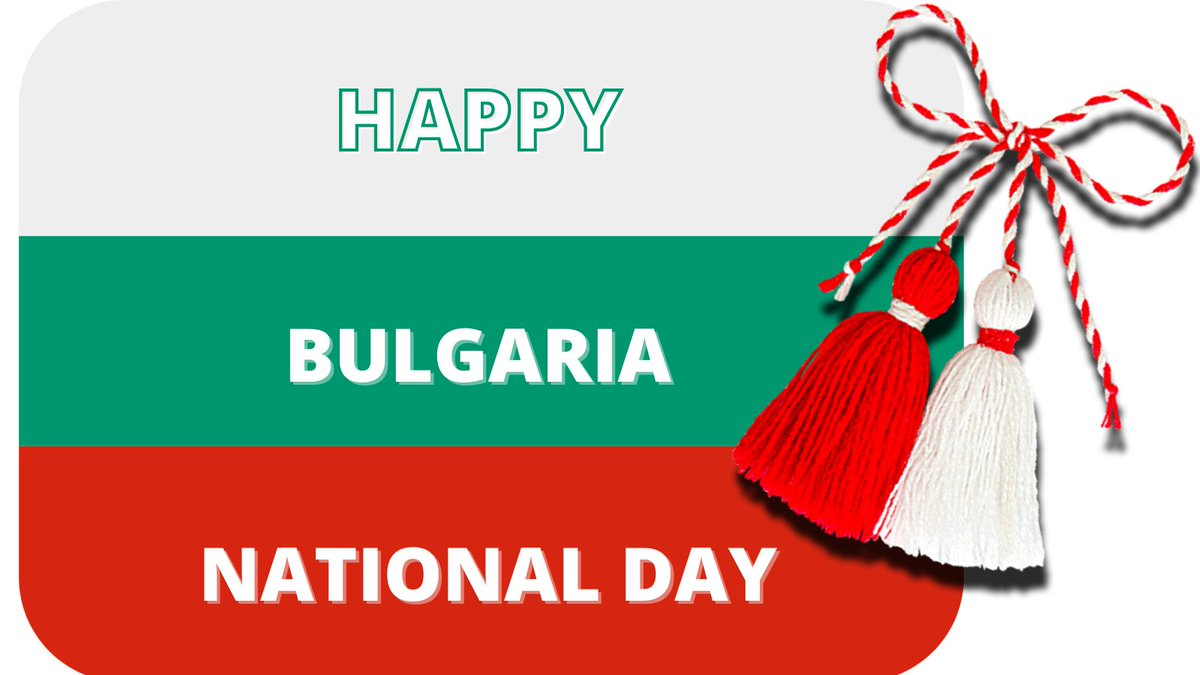 test Twitter Media - The Martenitsi are out & spring is here! Wishing the Ambassador of #Bulgaria HE Marin Raykov, our friends at the Bulgarian Embassy & Bulgarians everywhere a happy Bulgaria National Day. We can't be with you but we hope the Martenitsa brings you lots of luck & good health https://t.co/eZRcv8RKMf