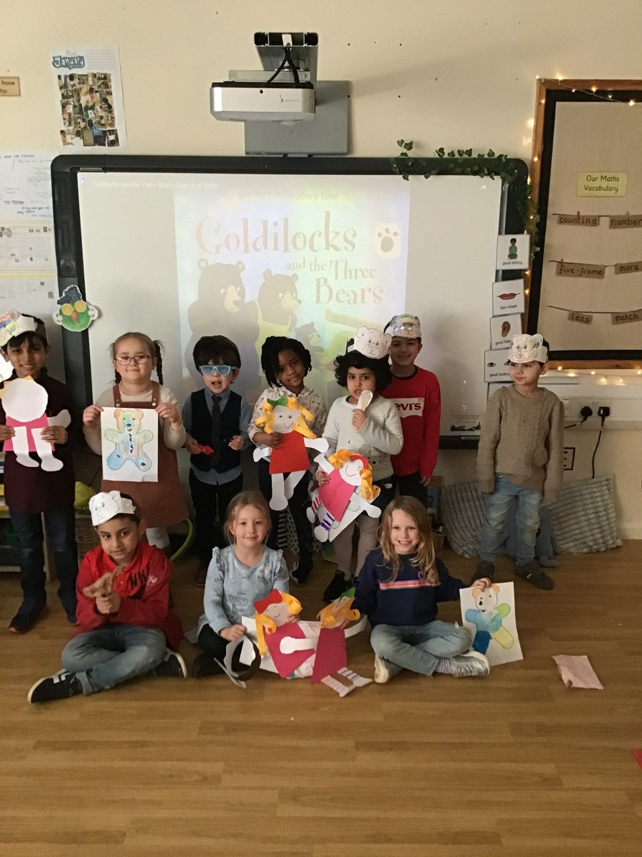 Last week Reception enjoyed a themed afternoon all about Goldilocks and the Three Bears. We had a selection of activities that the children could choose. The afternoon was enjoyed by everyone!! #Goldilocks #fun #porridge @stlukesbury