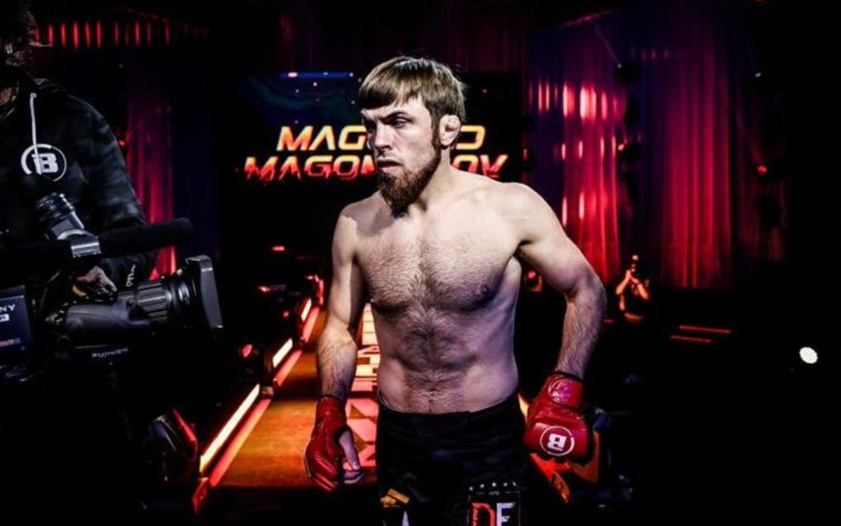 """In an interview with Sport Express, Magomed Magomedov (@magomedovtiger1) talked about his experience grappling with Aljamain Sterling (@funkmasterMMA) at Xtreme Couture (translated):  """"Sterling has skills on the ground, good skills""""  #MMATwitter   #UFC #Bellator #MMA #FPMMA"""