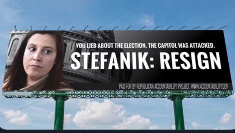 @RepStefanik You fed Americans Trump's big lie!?    You tried to take the votes away from Americans?!!   You radicalized Americans because of the Trump's BIG LIE?!  #SeditionHasConsequences #insurrection #GOPBetrayedAmerica  #GOPFascist