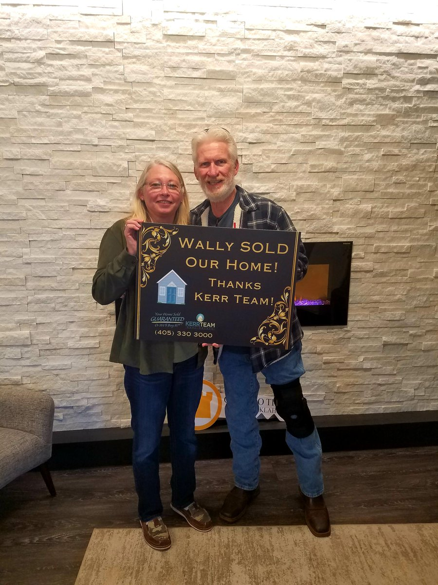 🎉 Congrats BeeDee and Fred! So happy we got your home sold! We want to help you next! Call us at (405) 330 3000 #RealEstate #homesforsale #wednesdaythought #WednesdayMotivation #March #community #shoplocal #work #quote #WritingCommunity
