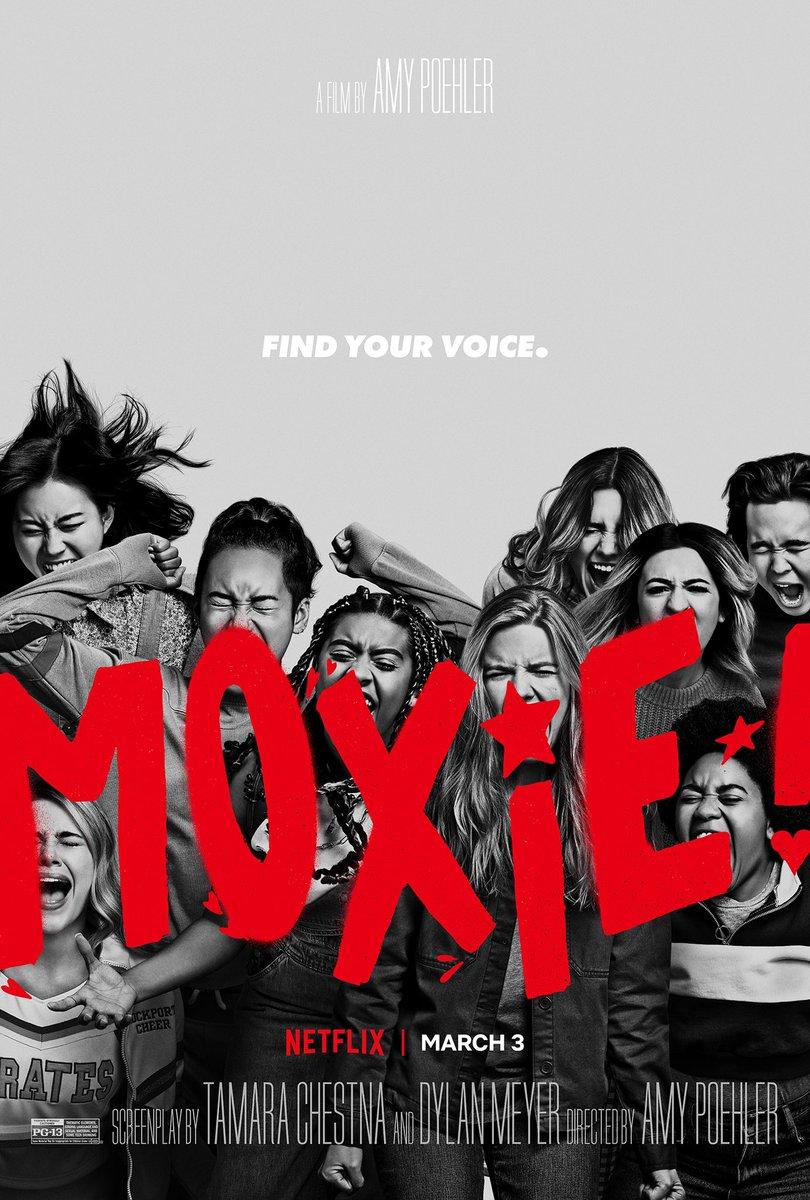 Pretty bloody awesome. F**k the patriarchy indeed! #Moxie #moxiegirlsfightback #MoxieNetflix @NetflixUK