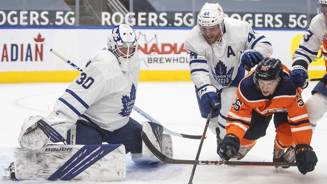 NEXT  @jamiemclennan29 joins @nielsonTSN1260 to get you set for Oilers/Leafs from ICE District  #LetsGoOilers | #LeafsForever | #NHL   Listen