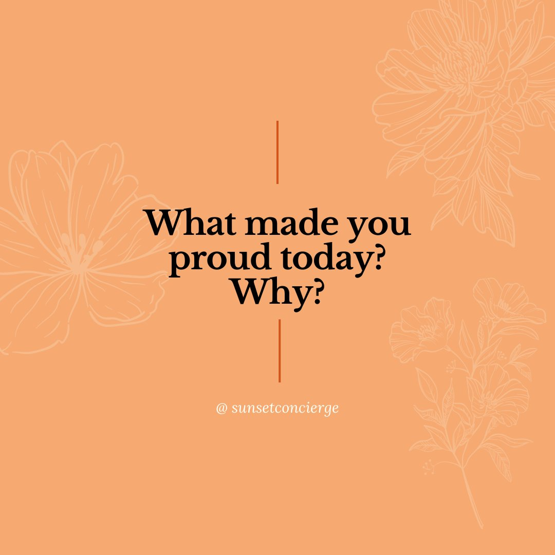 What made you proud today? Why?   #sunsetconcierge #made2blossom #legacystylist #legacyandtea #deathfluencer #deathpositive #services #gratitude #gratitudedaily #inspiration #instagood #lifestyle #today #gratitudelist #atlanta #atlantaga #georgia #sandwichgeneration