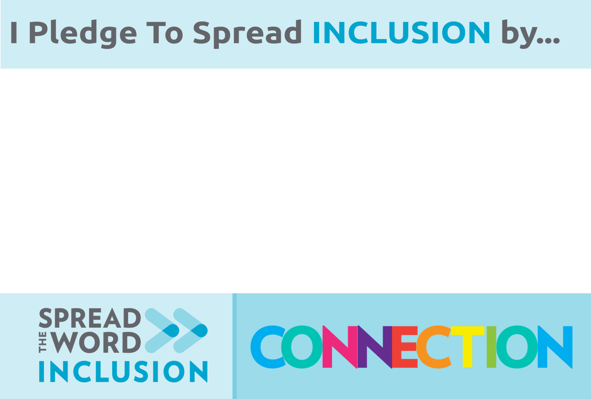 How do school counselors make the world a more accepting and inclusive place for people with intellectual and developmental disabilities? Share your pledge to support inclusion. @SpecialOlympics @pledgetoinclude #pledgetoinclude