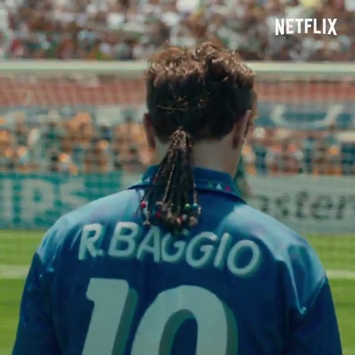There is a generation of people who were raised by Football Italia who are going to be *very* into this...  BAGGIO: THE DIVINE PONYTAIL, coming to Netflix 26 May.