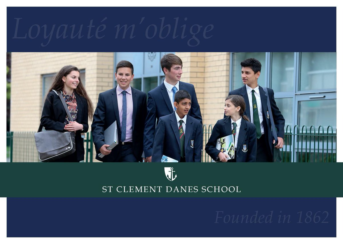 St Clement Danes School have a vacancy for an Administrator for their Music and SEN Departments. If you like a varied role and have school experience we would love to hear from you. See the link below or @tes or @Teachinherts for details.  https://t.co/iveFEFxIh5 https://t.co/BrcqbQEErZ