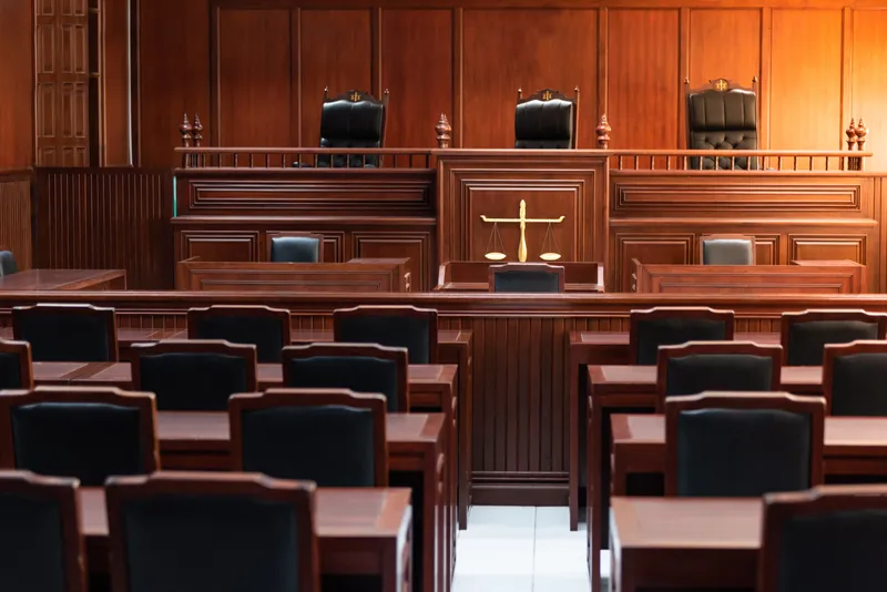 'With courts closed, it's hard for attorneys to move cases along.' Gee, ya think??!! #WednesdayMotivation ➡️ #OPEN  #lawsuits #business #smallbiz  #Illinois