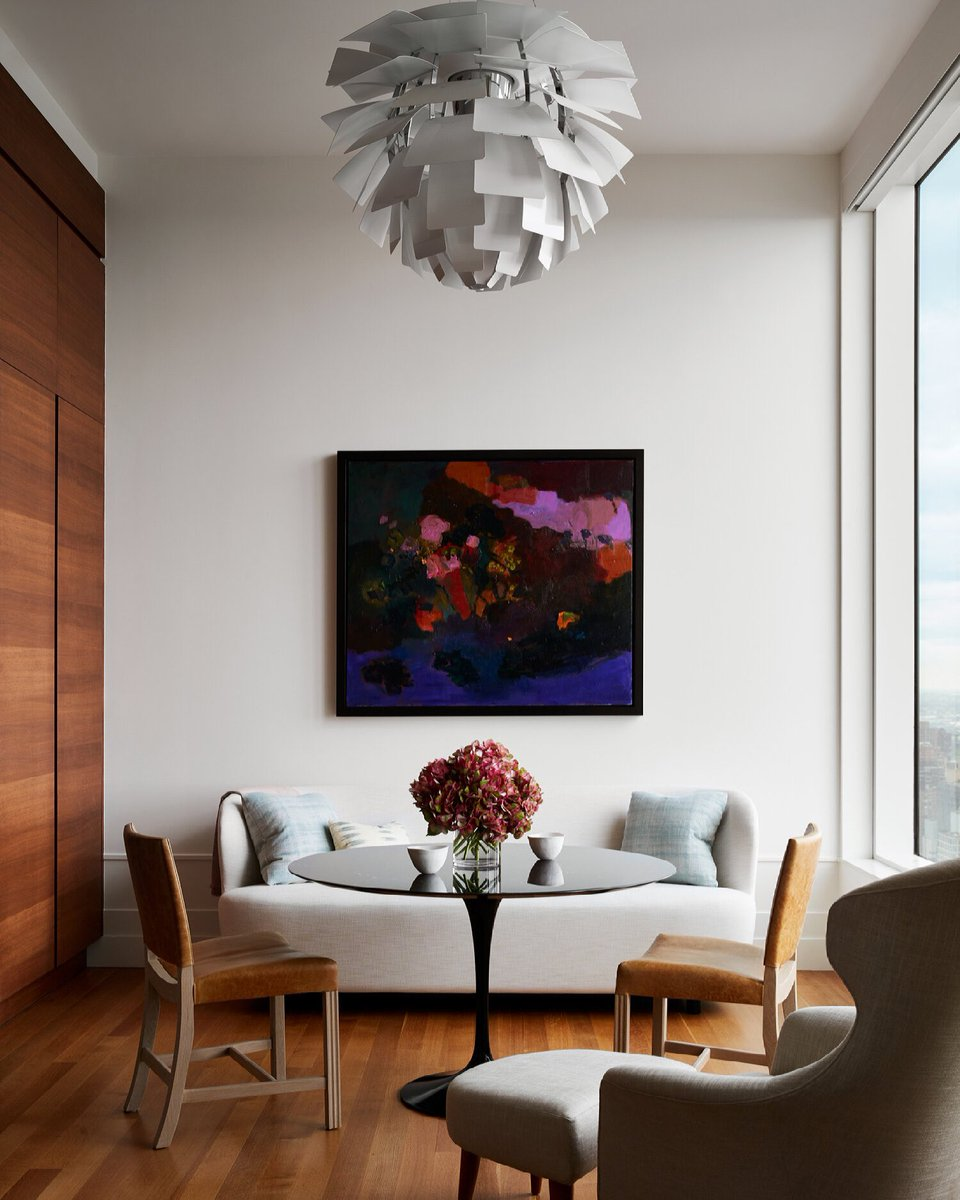 What's more important to you, aesthetics or functionality?  The optimal design is perfectly balanced between the two. But sometimes even then, the space is just to beautiful to touch.  Design: @DavidScottInt   #wednesdaythought #interiordesign