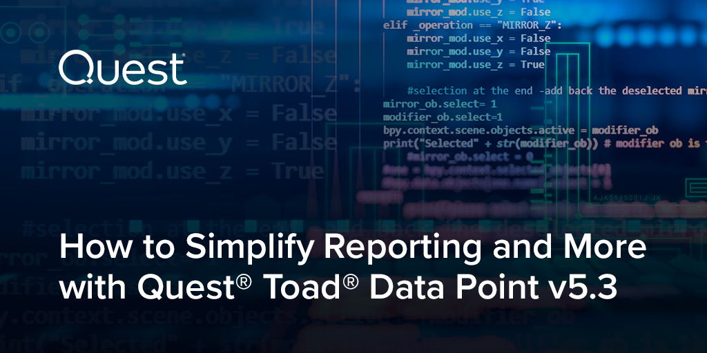 Waiting for help with reporting gets old fast – and so does your #data. Pull together fresh data sets and sophisticated reports, without help or #SQL expertise. Check out this on-demand webinar. https://t.co/KIMa05xiB9 https://t.co/K05qzcaJpG