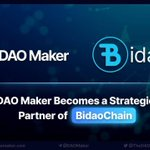 Image for the Tweet beginning: .@TheDaoMaker is joining the #Bidao
