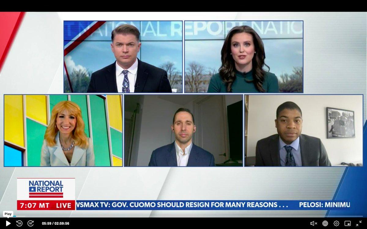 Talking #politicstoday with the #fridaymorning panel on @newsmax @ShaunKraisman @EmmaRechenberg @TheThomasGuide @thewillpierce