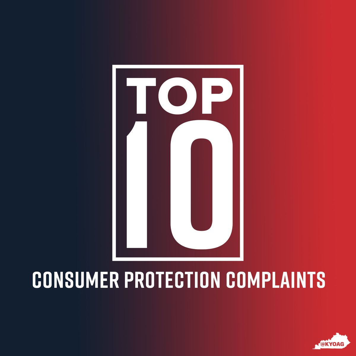 Last year, our office obtained more than $500,000 in restitution for Kentuckians by mediating complaints between consumers and businesses. To file a consumer complaint, call our Consumer Protection hotline at 1-888-432-9257 or complete our online form:
