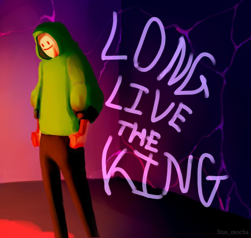The King Is Dead!  #dsmpfanart #dreamsmp #tommyinnitfanart #DreamFanart
