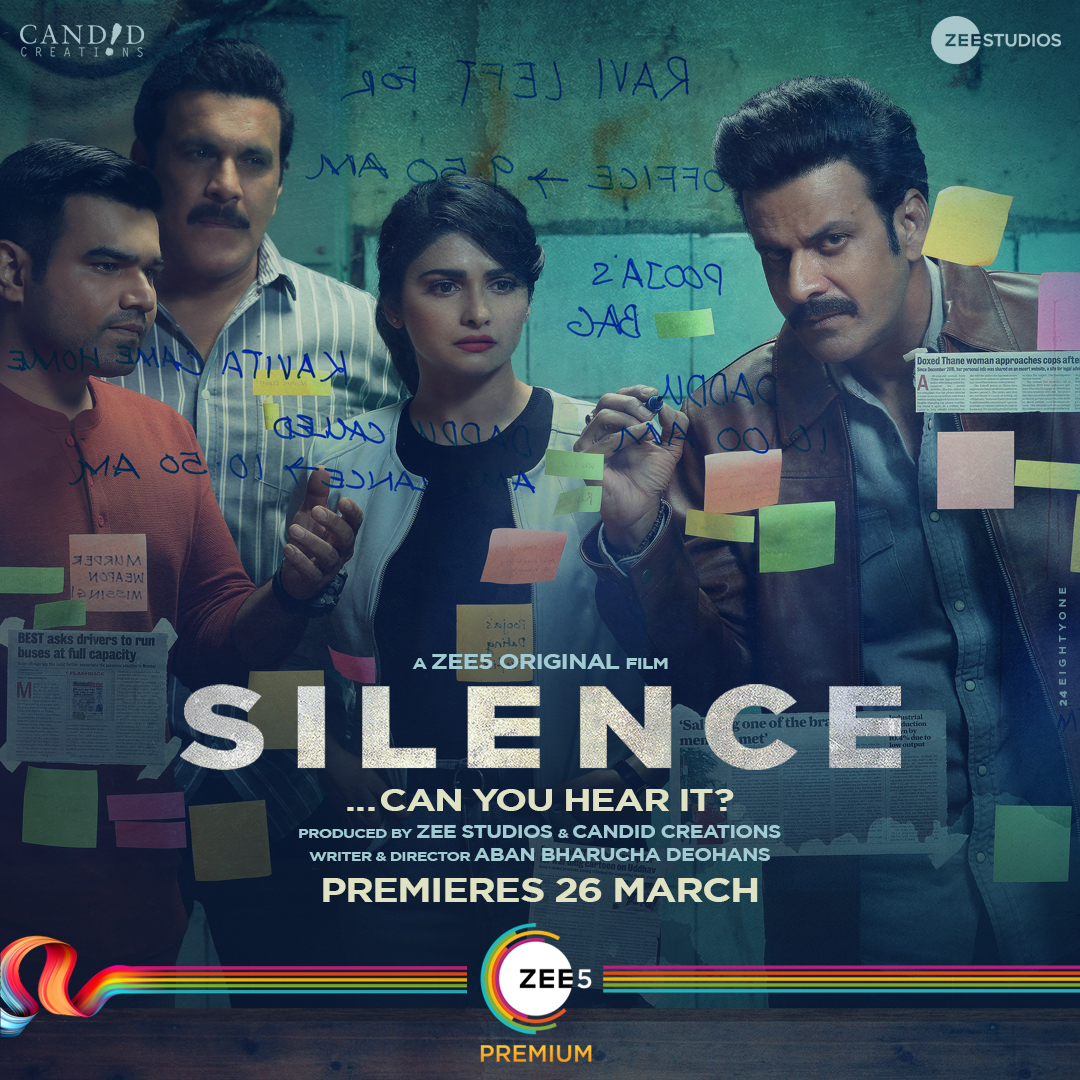 Truth lies in the details. Can ACP Avinash and his team uncover it? #SilenceCanYouHearIt premieres 26th March on @ZEE5Premium