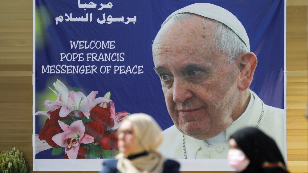 البابا فرنسيس ذاهب إلى العراق لأنه لا يمكن خذل الناس مرة ثانية