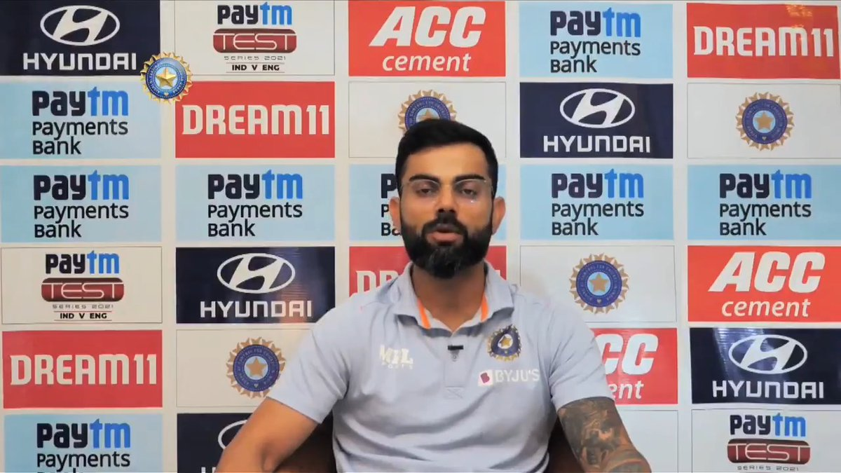 "💬 ""Unfortunate that there's too much noise about spinning tracks.""  Ahead of the fourth @Paytm #INDvENG Test, #TeamIndia skipper @imVkohli weighs in on the discussion about pitches."