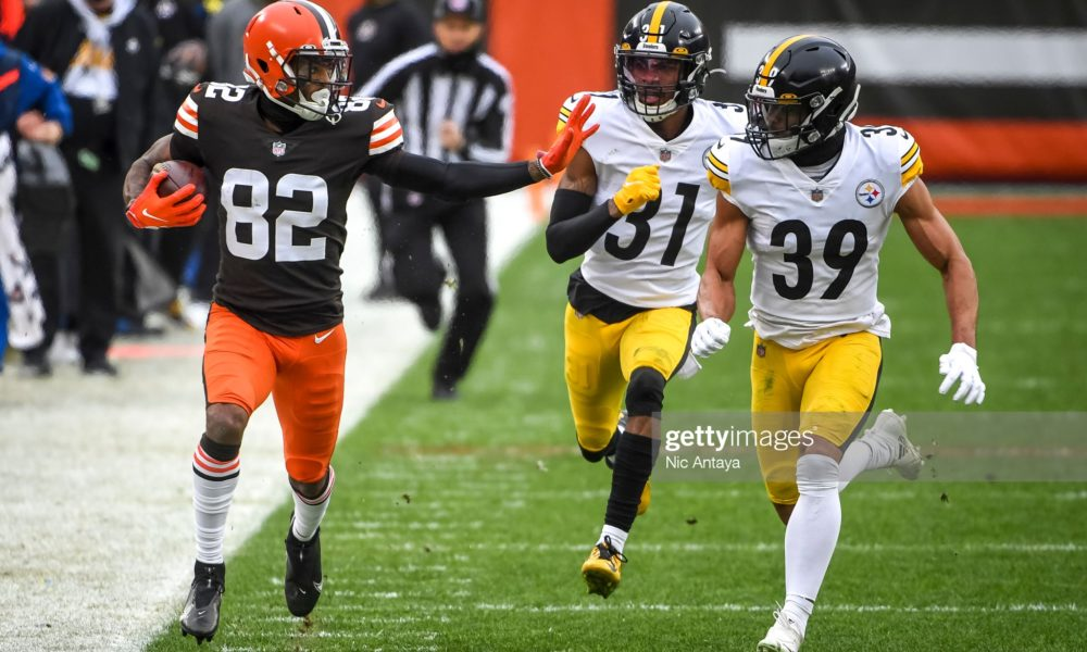 Rashard Higgins Hopes To Re-Sign With Browns, Says He Hasn't Seen An Offer Yet  #Steelers #NFL #HereWeGo
