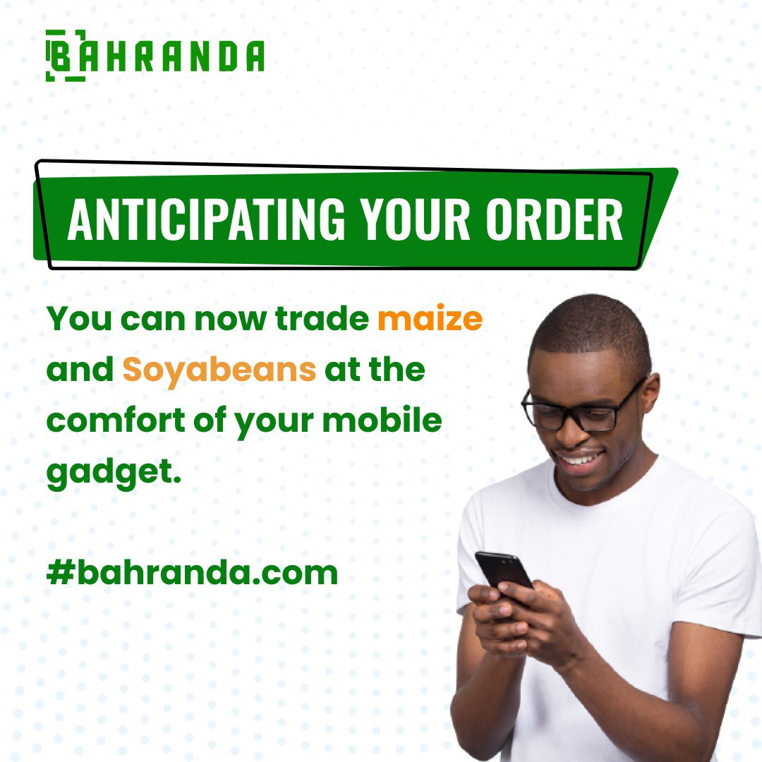 3rd of March . The Bahranda commodity trade is still ongoing!!!  Click on the link https://t.co/CeYiFOgRwa, register as a dealer and place your order today!!!  #bahranda #sale #agrocommodities #commoditytrading #commoditymarket https://t.co/t42ynMD1r2