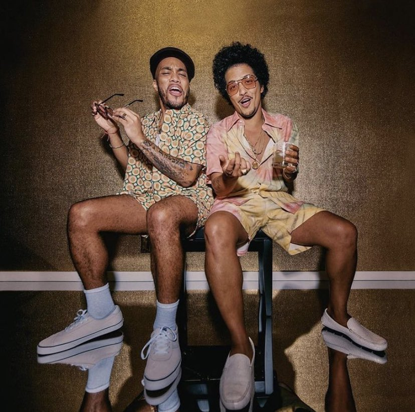 Anyone else counting down the seconds until Silk Sonic makes their debut on Friday? @BrunoMars @AndersonPaak