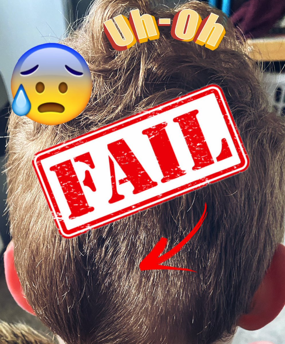 Uh oh! Haircut fail!💇♂️😫🤦🏼♀️ All will be revealed in our YouTube channel later! Did we manage to fix it?!🙈 #lockdownhair #haircut #fail #vlog #blog #youtuber #TFamily