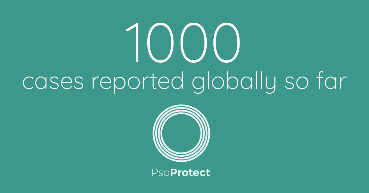 PsoProtect has now reached 1000 reported cases of #COVID19 in #psoriasis patients - thank you to all healthcare professionals who have taken part!  See the summary data for the first 885 cases here ➡️ https://t.co/L6af5VA0Q3   HCPs report cases here ➡️ https://t.co/ShwN0XUDxs https://t.co/KgZCYdItqp