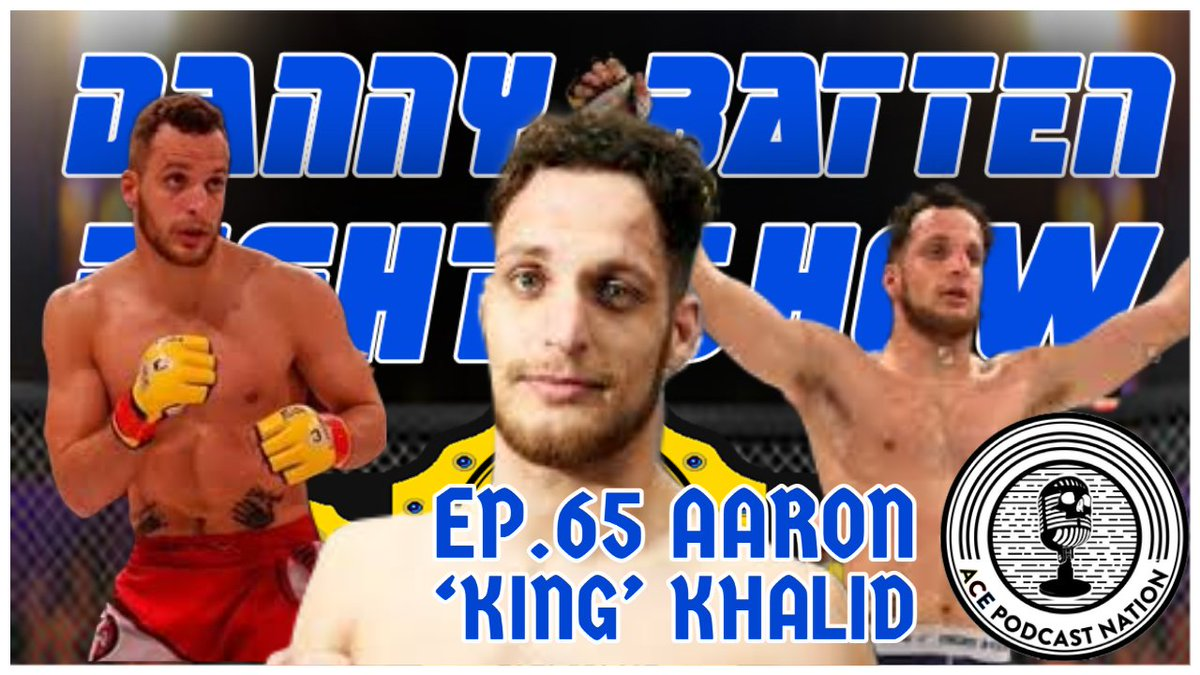 🚨NEW EPISODE🚨 8pm (UK) 3pm (EST)  All new episode of The #FightShow exclusively on @ACEcast_Nation ft special guest @CageWarriors welterweight Aaron 'King' Khalid (@KhalidMMA)   Watch 🎥   DL 🎙  #MMA #UKMMA #UFC #Bellator #UFCVegas