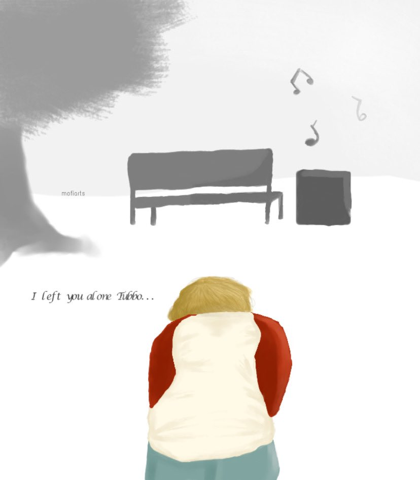 """I left you alone Tubbo..."" • • • #tommyinnitfanart #Tubbofanart #dreamsmpfanart #mcytfanart #dreamsmp #tommyfanart"