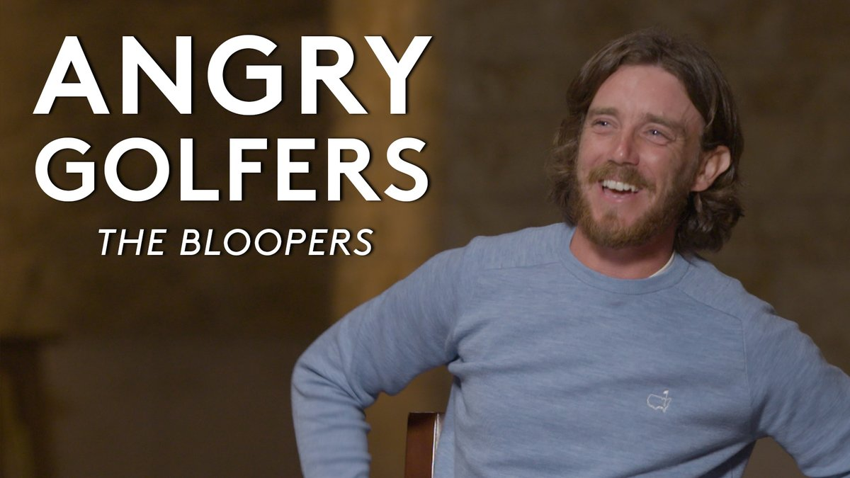 Here it is… Bloopers from #AngryGolfers 😂 😡  Enjoy 🍿