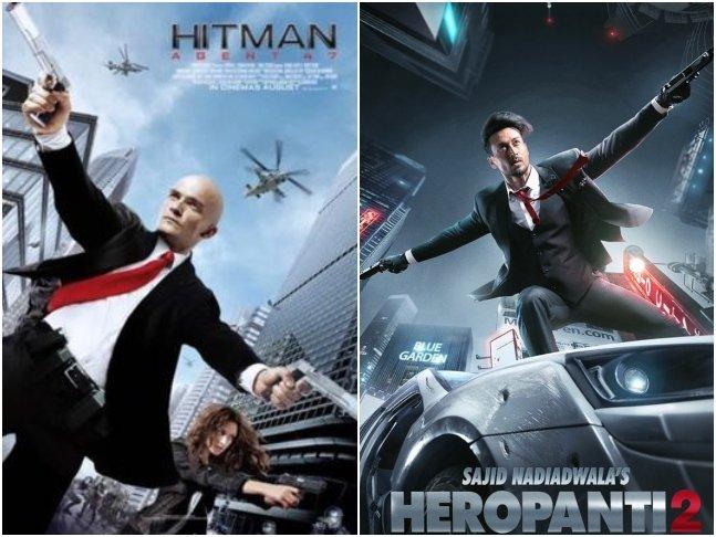 Netizens Troll #TigerShroff & Makers For 'Copying' #Heropanti2 Poster From A Video Game Series' Cover #Hitman2  @iTIGERSHROFF @NGEMovies @khan_ahmedasas @TaraSutaria @WardaNadiadwala #SajidNadiadwala