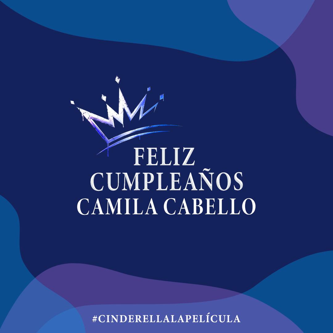 ¡Felicidades, @Camila_Cabello!✨ Próximam