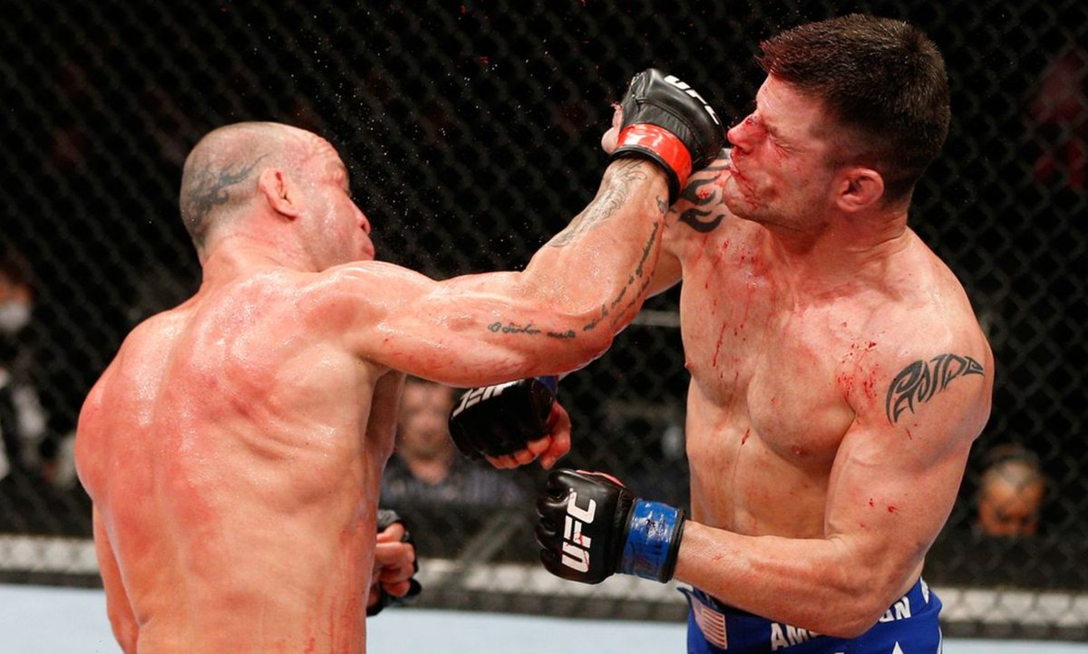 Today in 2013: Former PRIDE FC Middleweight champion Wanderlei Silva returned to the Saitama Super Arena for what would be an epic showdown with Brian Stann (@BrianStann).  #MMATwitter   #UFC #MMA #FPMMA