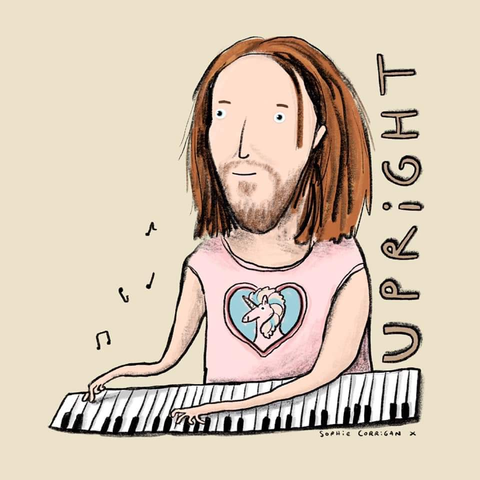 Still haven't emotionally recovered from the final episode of #Upright 💙 If you haven't seen it, you must! Here's an accurate illustrated spoiler featuring @timminchin's magic piano hands 🎹