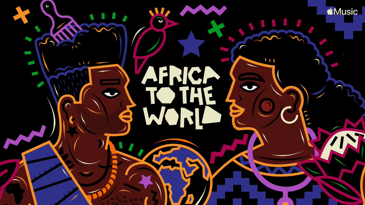 Check out Africa to the World, a definitive collection of original and exclusive content from some of Africa's biggest superstars as well as the continent's hottest emerging talents  Listen here: