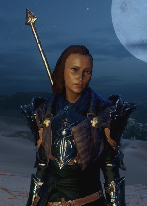 I don't usually bother much in character creation (because no mods and I'm bad at it), but I think Inquisitor #Beauregard turned out okay. #DragonAge #CriticalRole