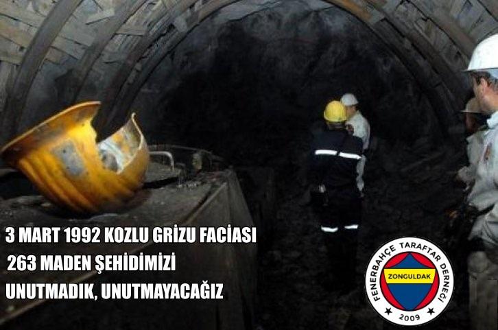 3 Mart 1992 yılında, TTK Kozlu Maden ocağında meydana gelen grizu faciasında hayatını kaybeden 263 maden şehidimizi saygı, rahmet ve minnetle anıyoruz. Ruhunuz şad mekanınız cennet olsun. 🙏🏼🤲🏼
