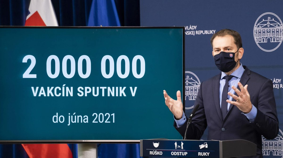 #Oekraïne niet blij na antwoord Slowaakse premier, @i_matovic, op de vraag: 'wat staat er tegenover de levering van 2 miljoen #Spoetnik-vaccin uit #Rusland?'  Het antwoord van #Matovic luide: Transkarpatië ( stukje #Oekraïne in het uiterste westen)