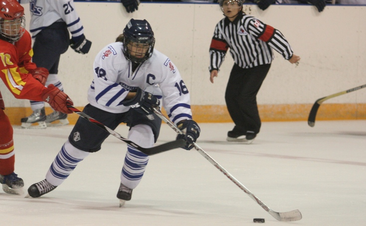 Tomorrow night on #TheHockeyShow on @UMFM, we meet @DrKarolinaUrban who chased pucks for the @Varsity_Blues. In reality, it was Karolina who chased her education, and hockey came along for the ride. Meet Dr. Urban at 530pm CT tomorrow to hear how education led to hockey! #amazing