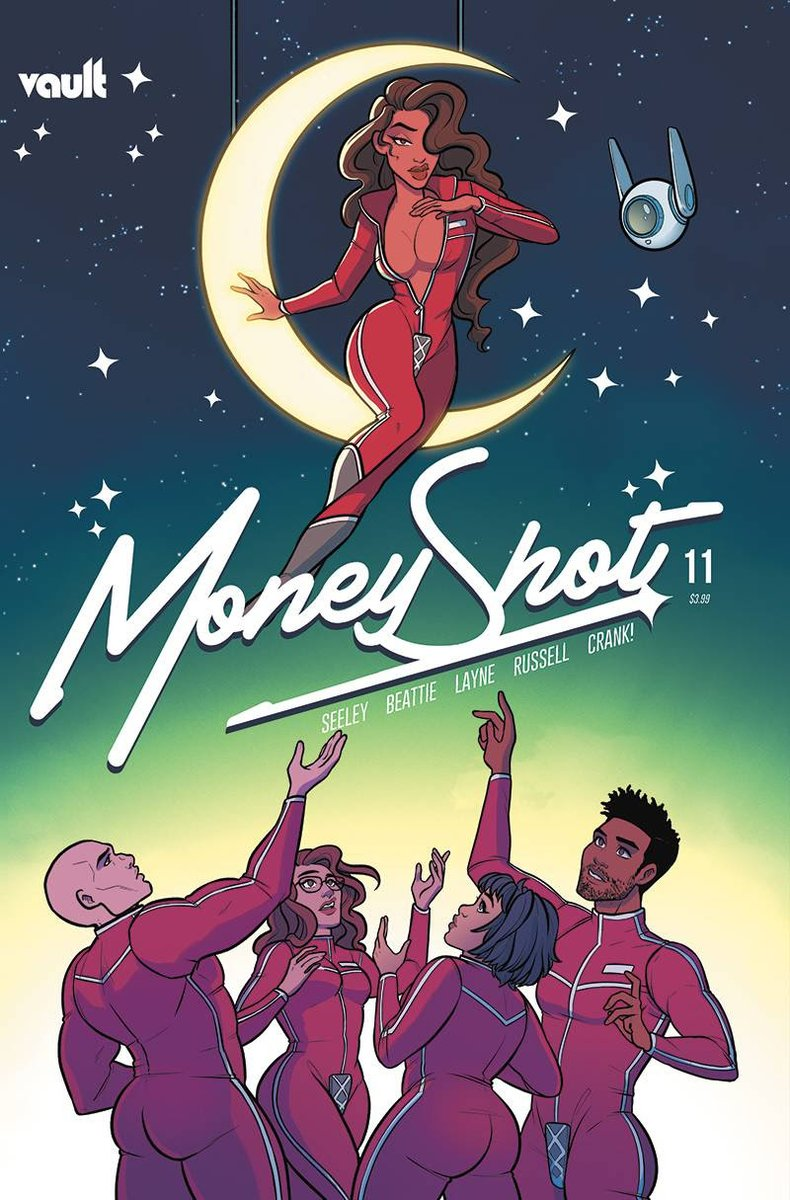 .@thevaultcomics Announces @caroleighlayne as New Artist on Money Shot! #comics ow.ly/Wv5E50DO0BO