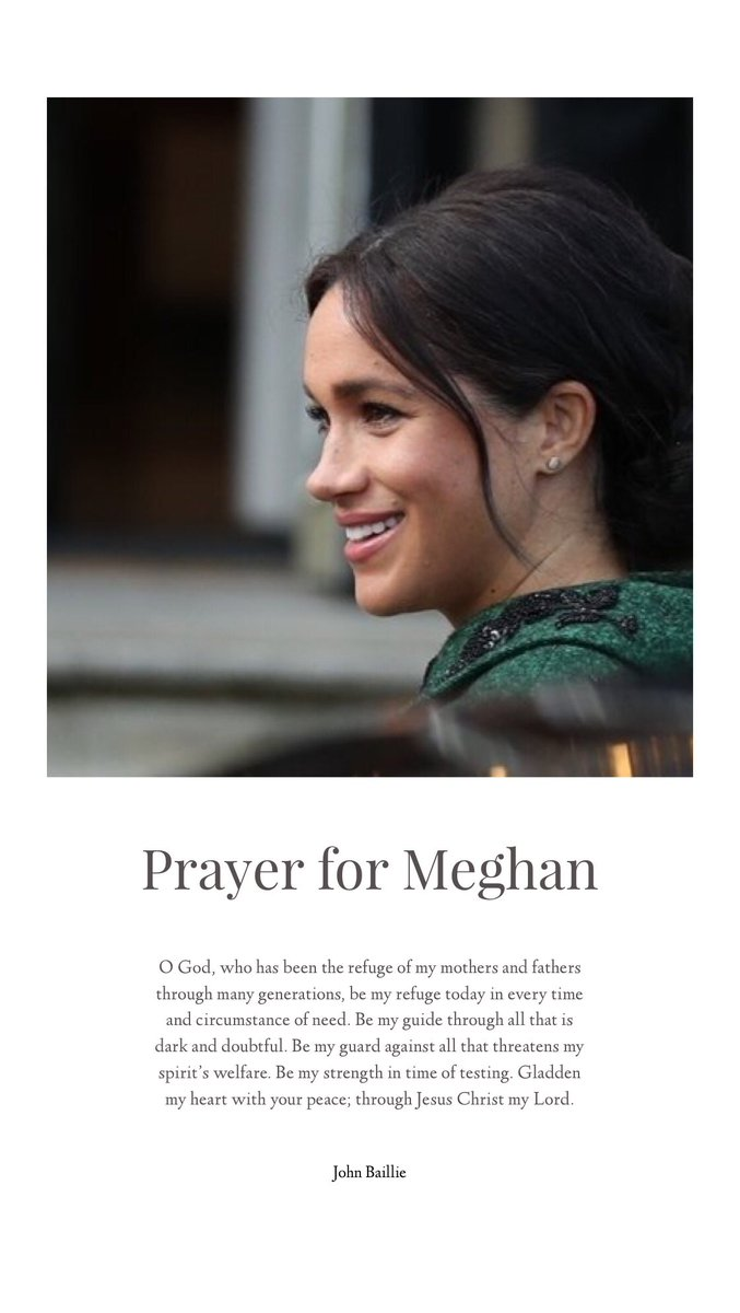 #LentenJourney Day 13/40  Prayer for #PrinceHarry & #MeghanMarkle #SussexPrayerChain