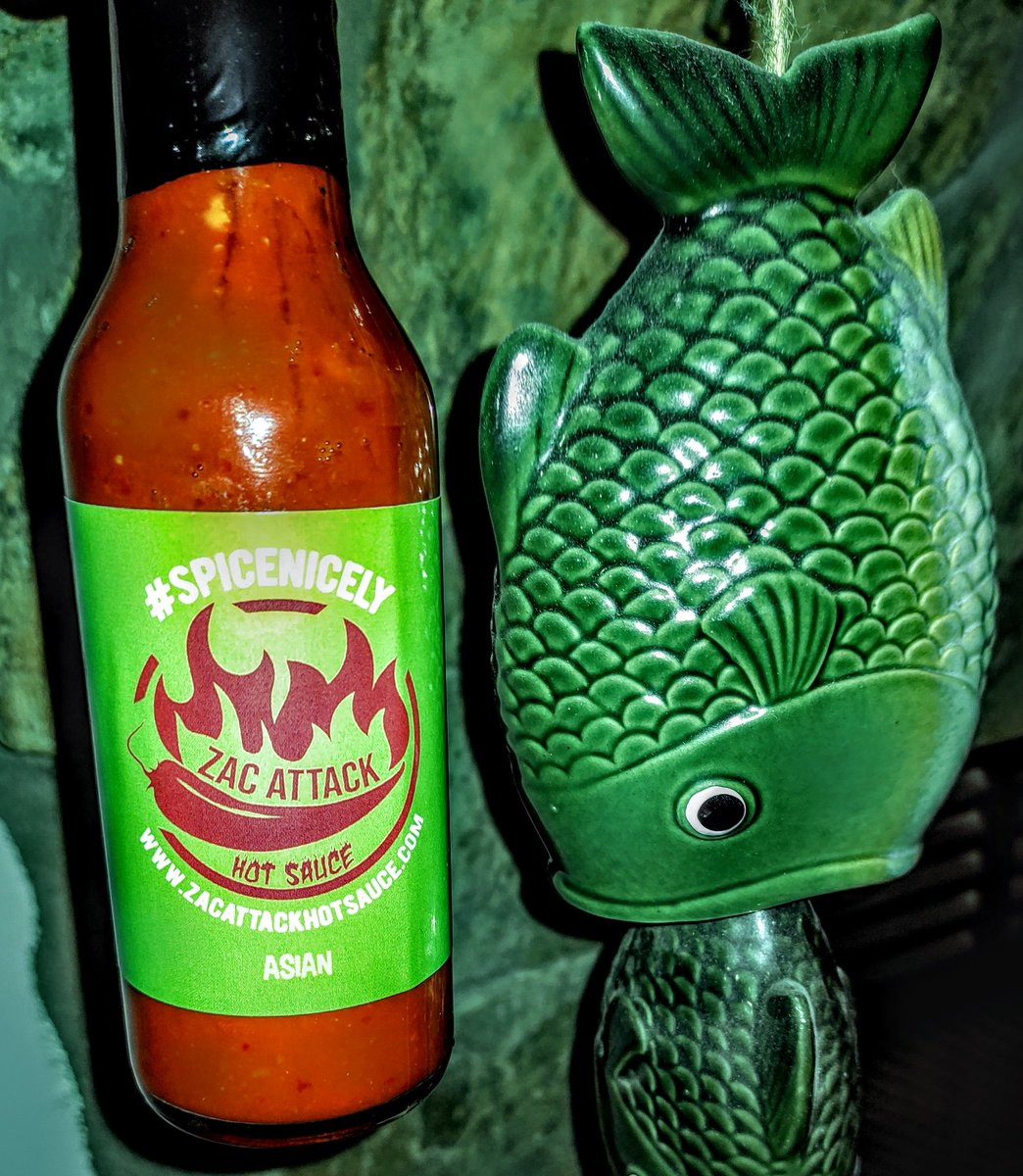 Asain hot sauce on your fish? Yes please #spicenicely #hotsauce #SmallBusiness #shopsmall #buylocal #asain #WednesdayMotivation #wednesdaythought #cooking #fish #recipe #Greatness #food #RecipeOfTheDay #RainyDay #spice #hot #delicious #green #yum #EatLocal #ordernow #homemade