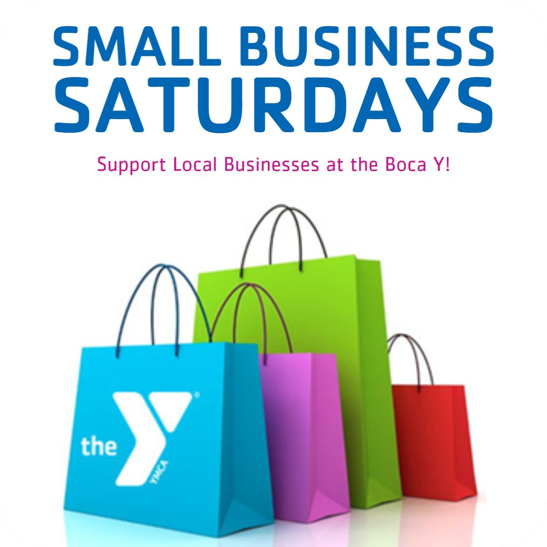 Join us at the Boca Y March 13 from 9am-12pm for SMALL BUSINESS SATURDAY! Shop local vendors & help support local businesses! Interested in being a vendor?   #smallbusiness #shoplocal #impact #BocaY #shopping #supportlocalbusiness #saturday #local