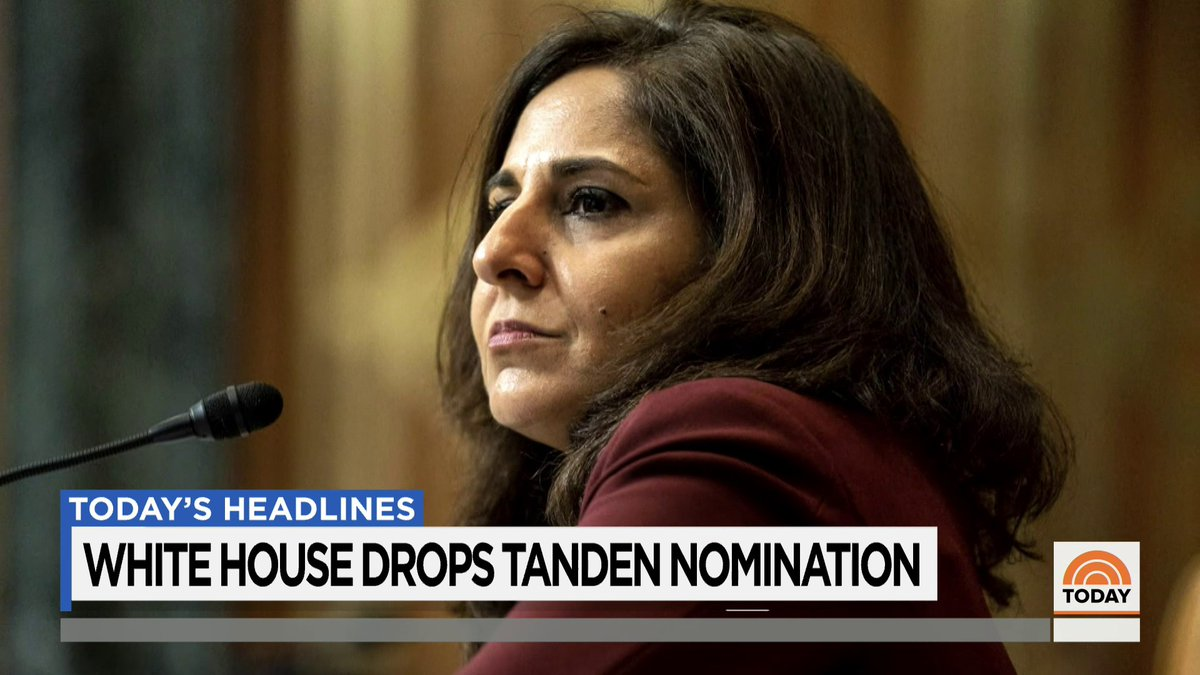 The White House is withdrawing Neera Tanden's nomination to lead the Office of Management and Budget, marking the first major cabinet defeat for President Biden.