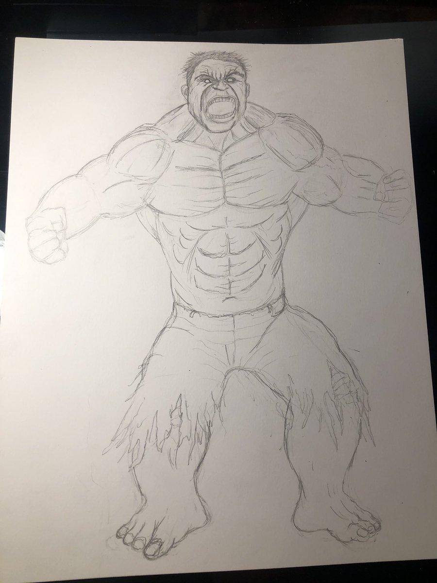 Hulk(WIP) #marvel #avengers #incrediblehulk