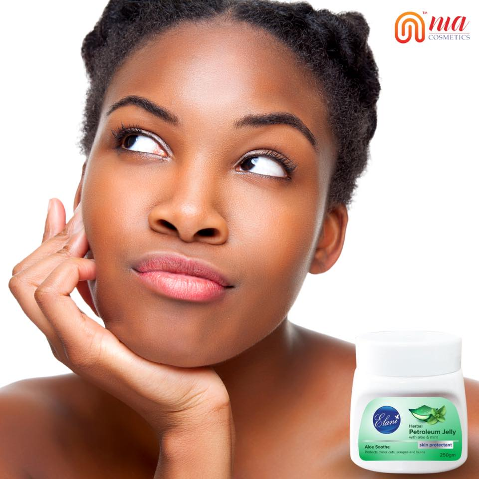 Thinking about how to smoothen that #beautiful #skin?  Our NEW #Elani Aloe Vera Petroleum Jelly does the trick:  Heals minor skin scrapes and burns. #Moisturizes your face, hands, and more!  +254 729 173153 / 735986810