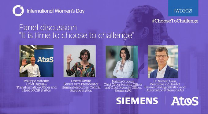 On the #IWD2021 Philippe Mareine and @OzzzArdaYavuz together with @NataliaOropezaG and...